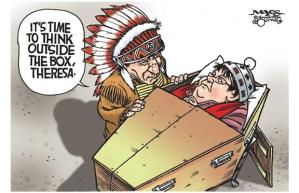 Chief Spence Degraded